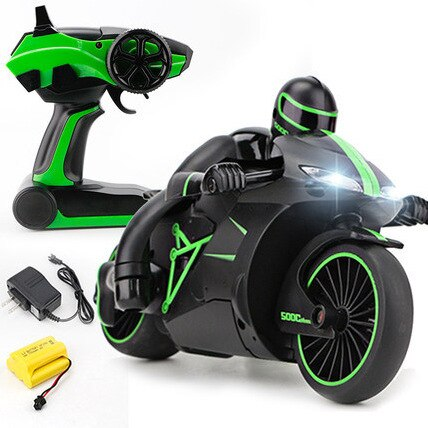 Image of Super Mini Motorcycle RC Stunt Bike