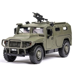 1:32 Tiger-M Military vehicles  Alloy Car Model Diecasts & Toy Vehicles Toy Cars Kid Toys For Children Gifts Boy Toy