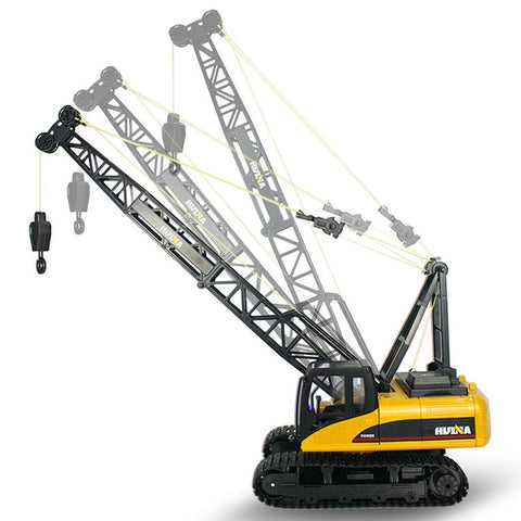 Image of RC Truck Tower Crane 16CH 2.4G Remote Control Hoist Constructing Crawler Excavator Model Electronic Engineering Hobby Toys