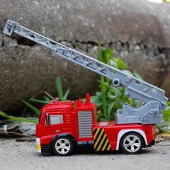 Image of Remote Control RED Cross Rescue Fire Truck