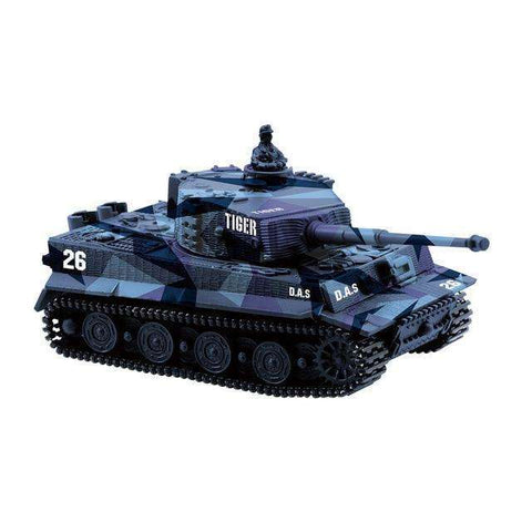 Image of RC tank Germany Tiger I Colorful 1:72 Vivid High Simulated Great Wall 2117 mini Remote Control Toy
