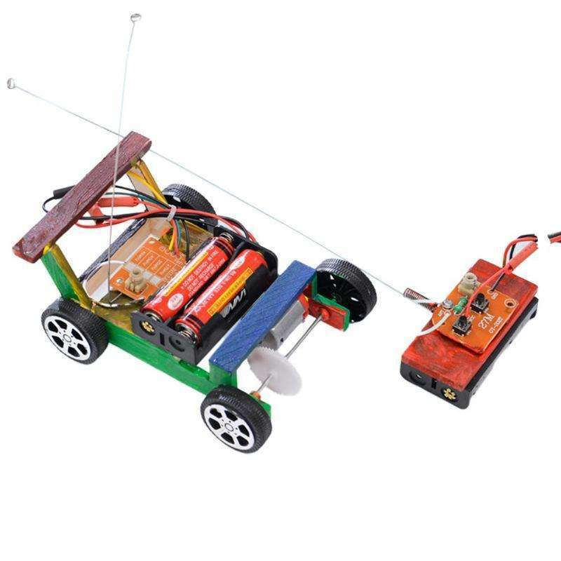 Creative DIY Remote Control Model Toy Science Experiment