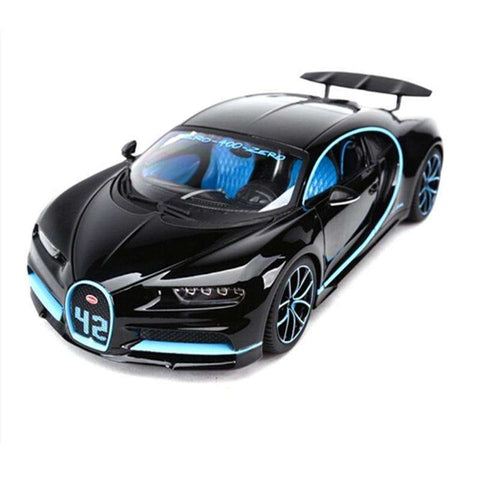 Diecast Bugatti Chiron Sports Car