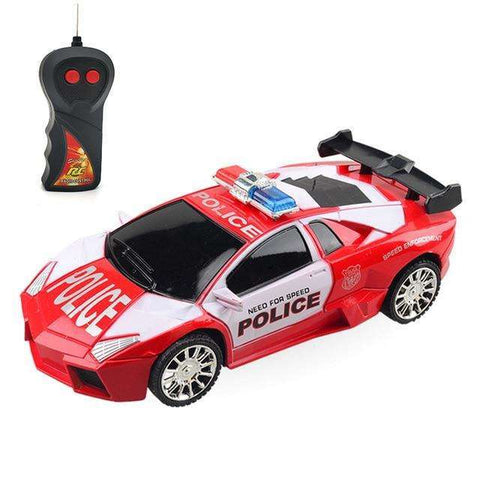 Image of 1:24 Electric 5 Color RC Police Car
