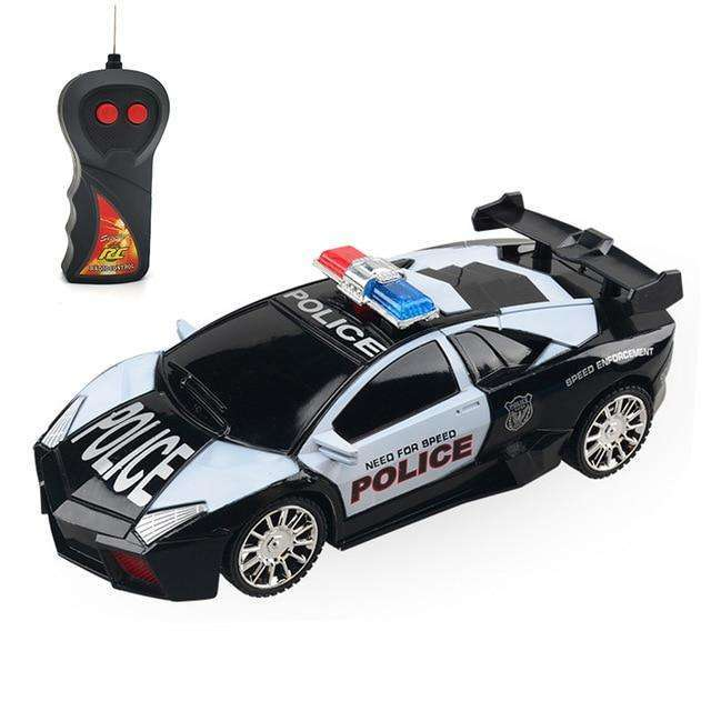 1:24 Electric 5 Color RC Police Car