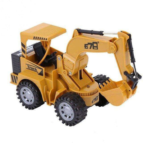 Image of 1:24 5 Channel RC Excavator Tractor Toy
