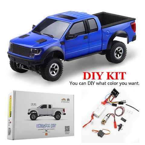 Orlandoo OH35P01 F150 1/35 EP Scale Simulation Climbing RC Crawler Car Parts DIY Assemble KIT With Brushed Motor ESC Kids Toys
