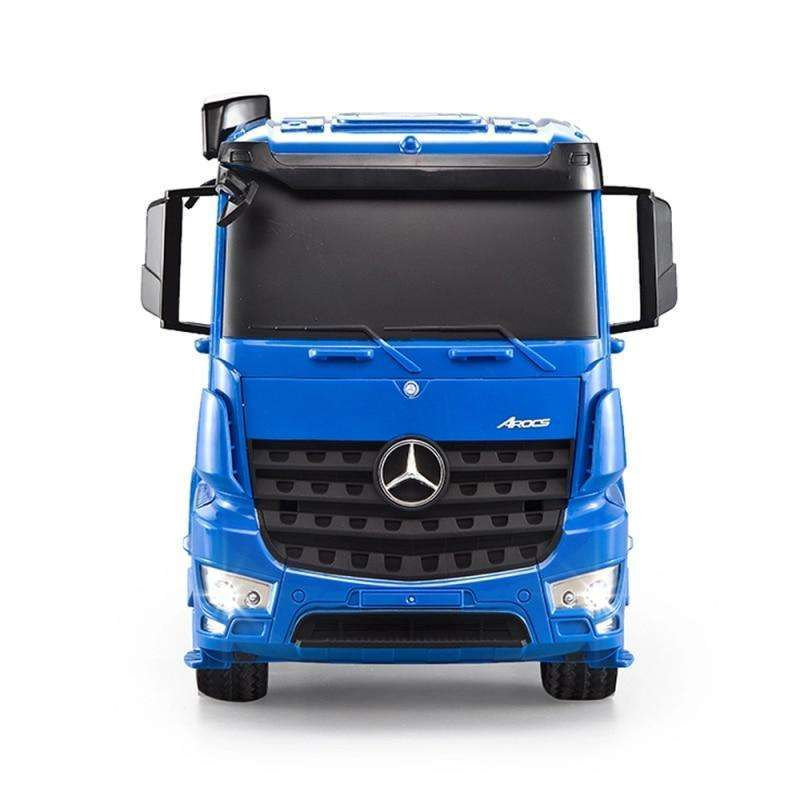 Blue Benz RC High Speed Shipping Container Truck Toy