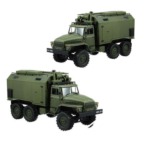 Image of B36 Ural 1/16 2.4G 6WD Rc Car Military Truck