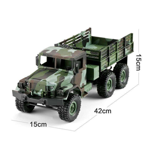 Image of MN-77 Camouflage RC Truck w/LED Lights