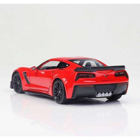 Image of 2015 Diecast Model Corvette Z06 Sports Car