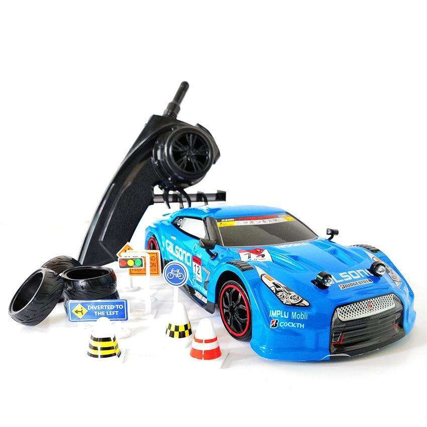 4WD Rapid GTR Drift High-Speed RC Car