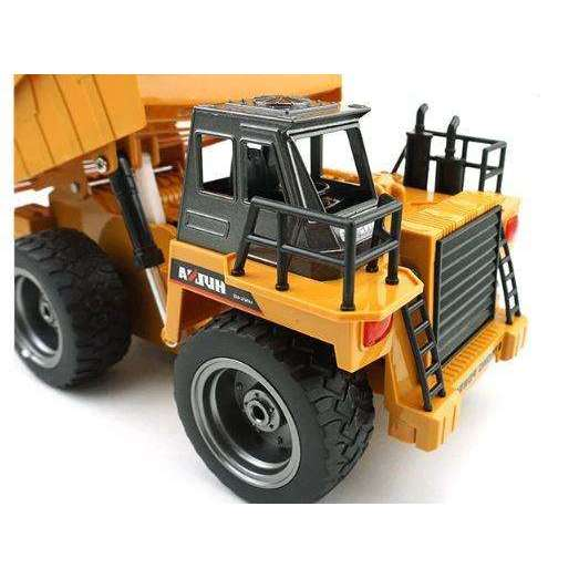 RC Tipper Dump Truck Toy Tipper - Alloy Remote Control