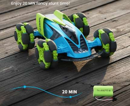 Image of 4WD 20 KM/H 360 Stunt Car With Demo Mode & Led Lights