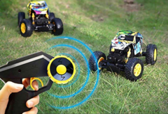 RC 4WD Off Road Thunder Rock Crawler Truck