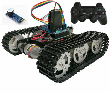 DOIT Wireless Control Smart RC Robot Kit (DIY)