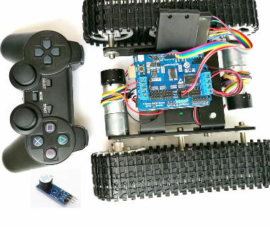 Image of DOIT Wireless Control Smart RC Robot Kit (DIY)