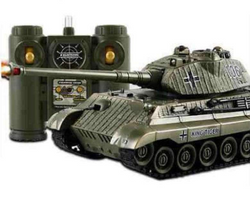 RC KING Shooter Army Battle Tank