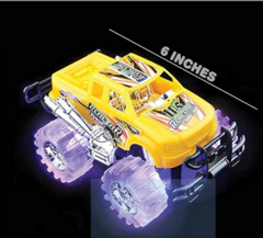 Image of Light Up Monster Truck Push Play Toy