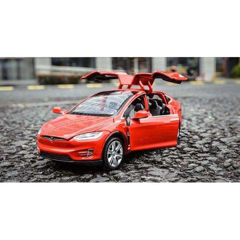 Tesla Toy  Car Model X- Pull & Go