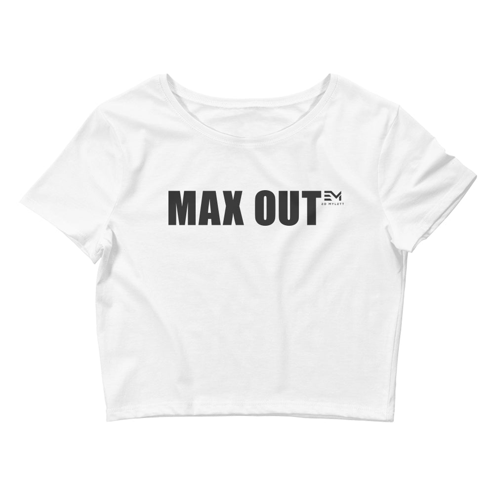 MAX OUT Women's Crop Tee (click for color options)