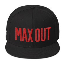 MAX OUT Snapback Hat (click for color options)