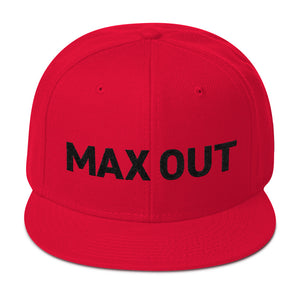 MAX OUT Snapback 2 (click for color options)