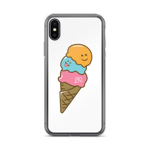 Ice Cream Emoji iPhone Case