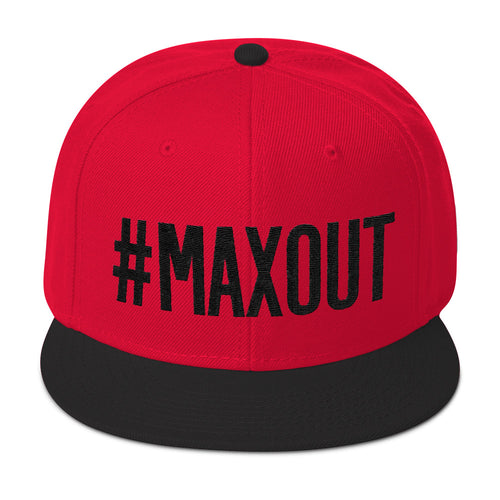 #MAXOUT Snapback Hat (click for color options)