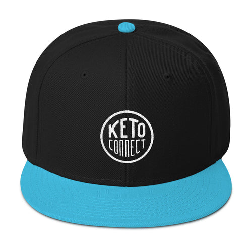 Keto Connect Circle Logo Snapback