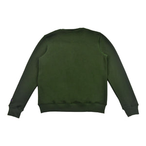 "Men's ""Paid In Full"" Crewneck Olive"