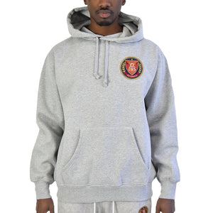 "Men's ""Big Logo"" Hoodie - Ash Grey"