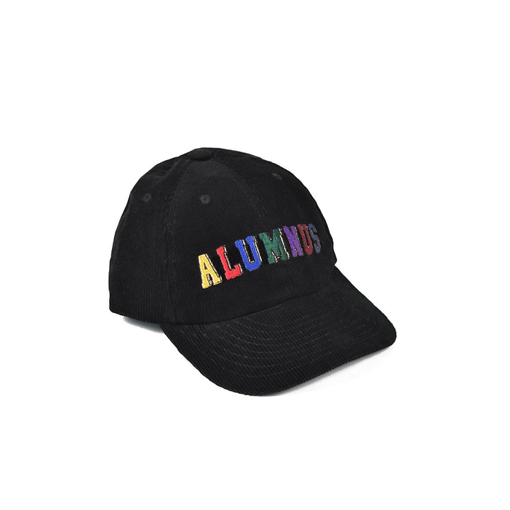 Multi Block Corduroy Hat - Black