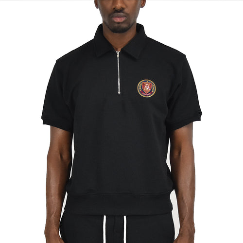Men's Half Zip - Black