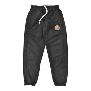 Striped Windbreaker Pant Black