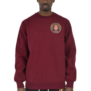 "Men's ""Big Logo"" Crewneck - Burgundy"