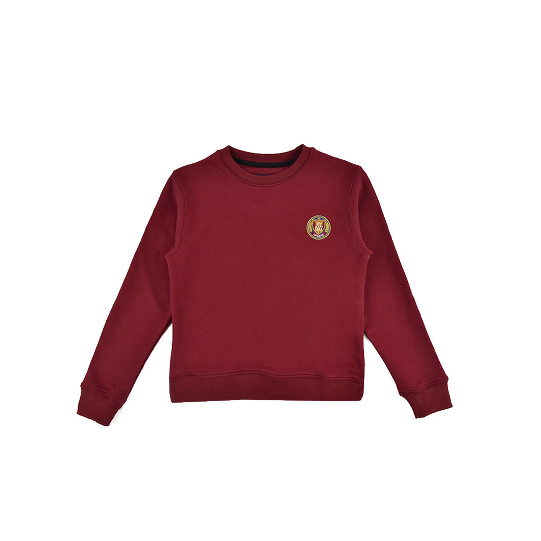 Kids Crewneck - Cranberry