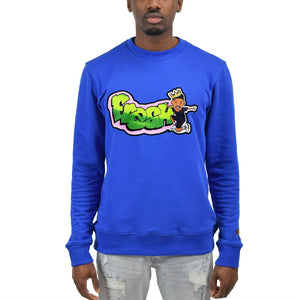 "Men's ""Fresh Prince"" Crewneck Royal"