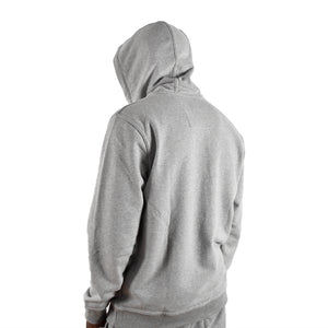 "Men's ""Tech"" Full Zip Hoodie - Grey"