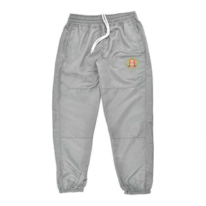 Striped Windbreaker Pant Grey