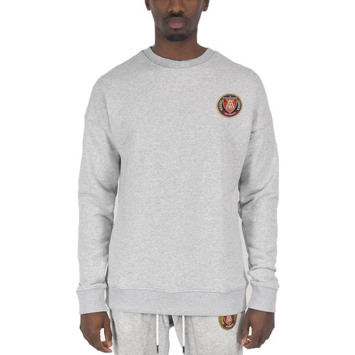 Men's Crewneck - Ash Grey