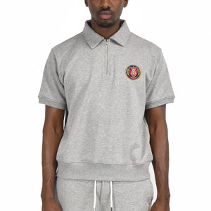 Men's Half Zip - Grey