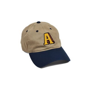 "Anchor ""A""  Khaki/Navy"
