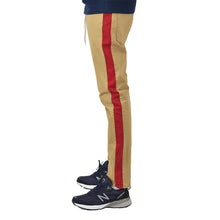 Men's Khaki-Red Chino