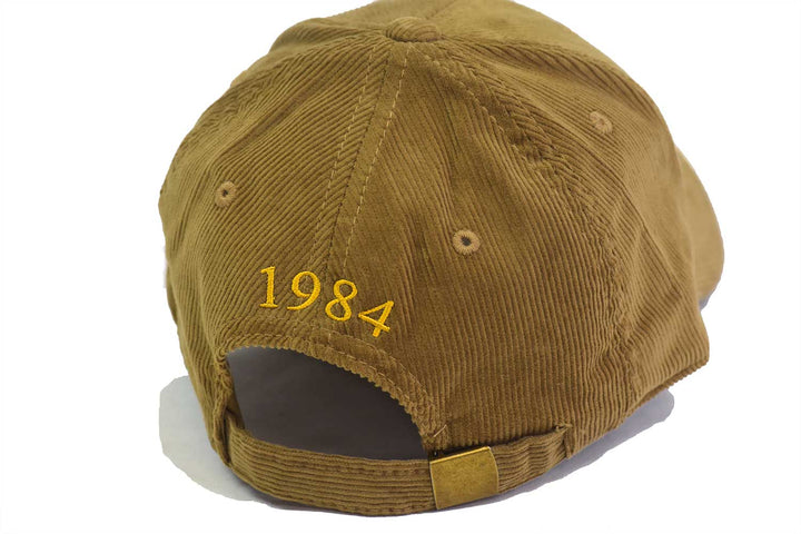 Corduroy Center Seal Hat - Khaki