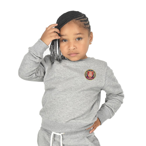 Kids Crewneck - Grey