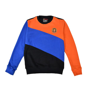 Orange/Royal/Black