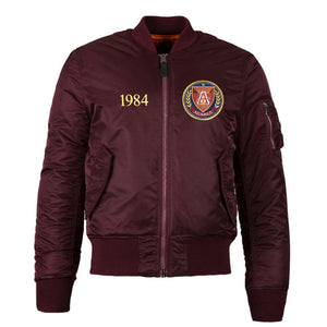MA-1 Flight Jacket Maroon