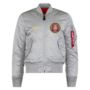 MA-1 Flight Jacket Silver