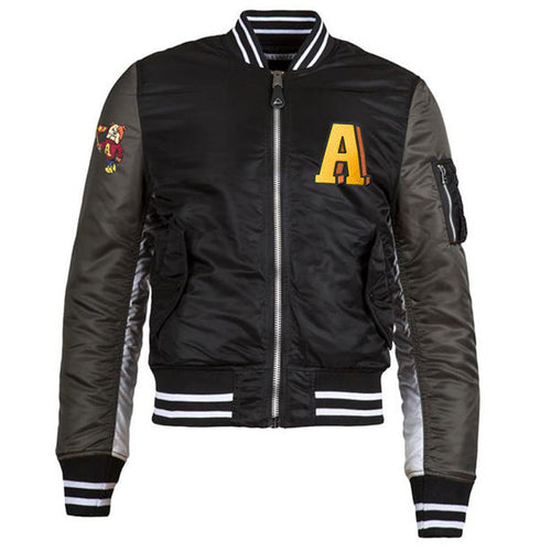 MA-1 Varsity Flight Black